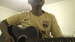 khom louch srolanh oun (ខំលួចស្រលាញ់អូន) cover by khmerchord guitar