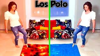 La PISCINA MAGICA de AGUA y LAVA en casa de DANI y EVAN