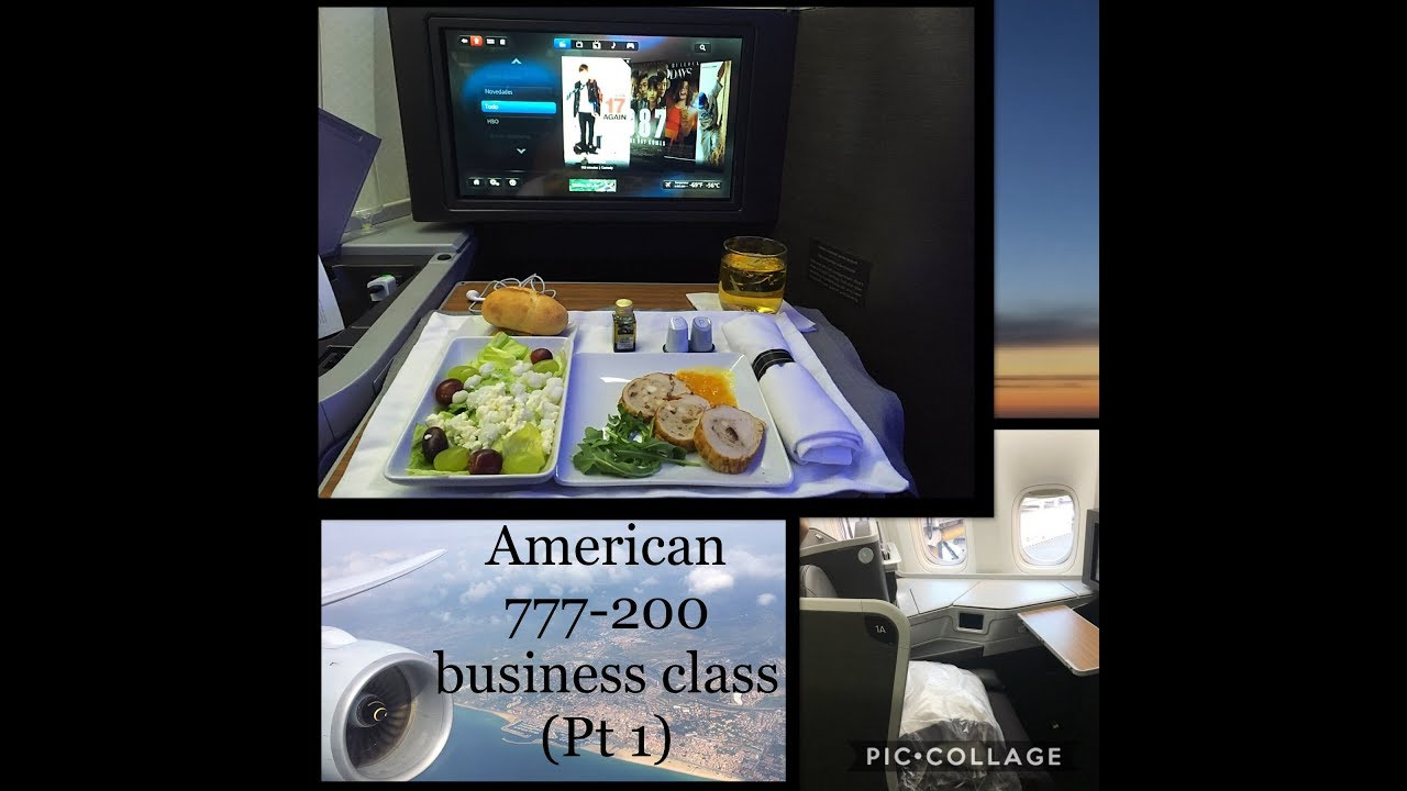 American Airlines |777-200| International BUSINESS CLASS