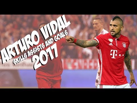 Arturo Vidal - Skills and Goals - Bayern Munich - 2016/2017
