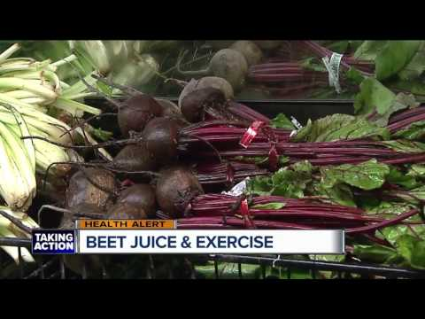 Beet Juice and exercise
