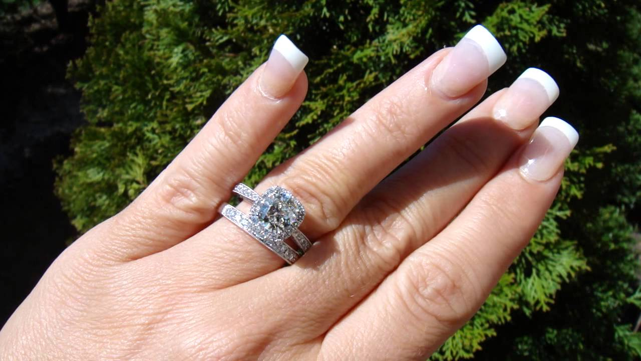 Cushion Ring Tacori Style 2620 By Diamonddirectbuy _sold_ More  Availlable  Youtube