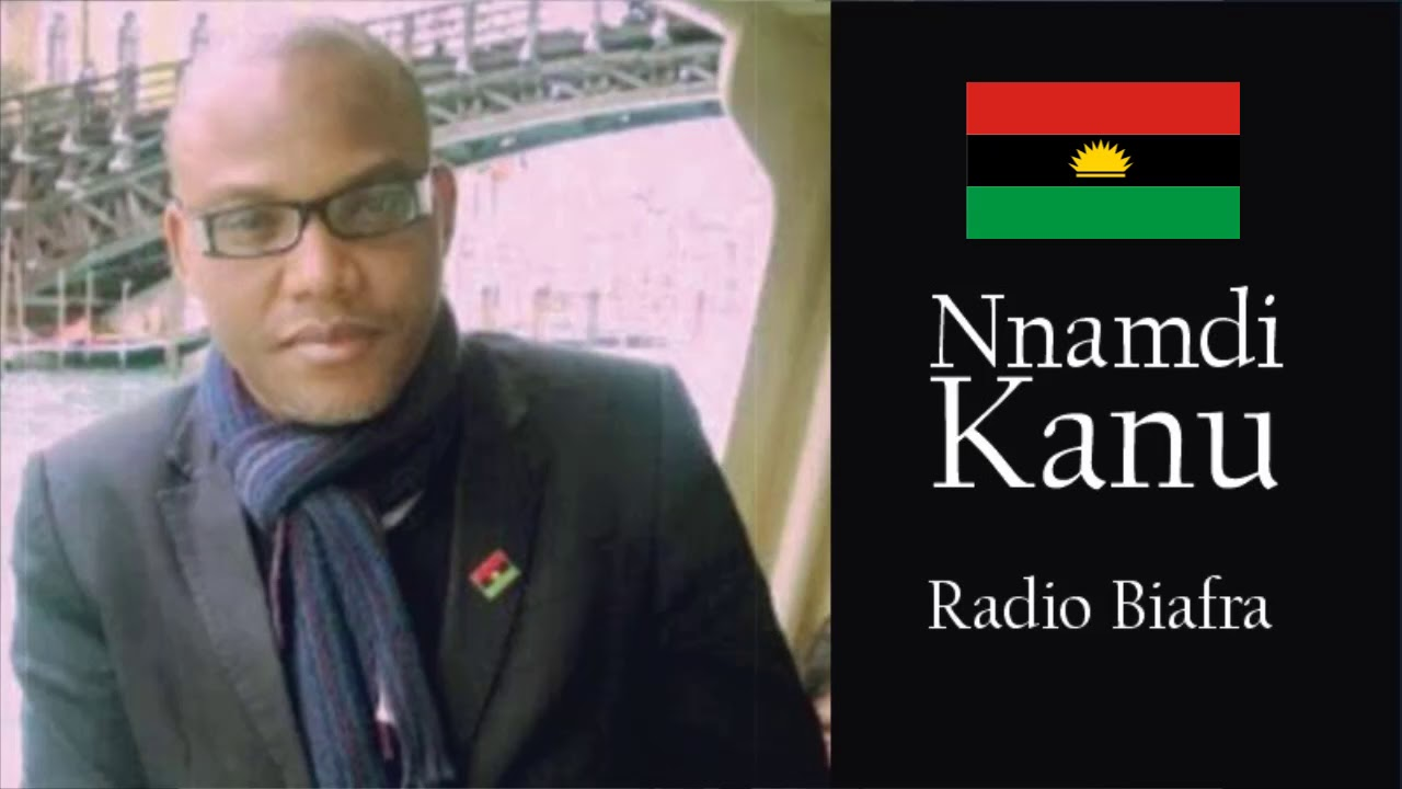 BIAFRA:NNAMDI KANU'S BROADCAST OF 10TH NOVEMBER,2018