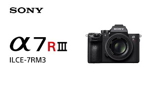 Product Feature | Alpha 7R III | Sony | α