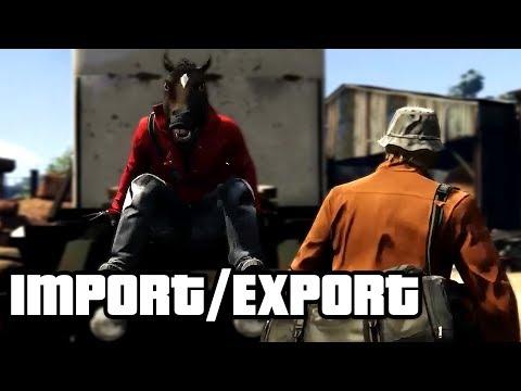 GTA Online: Import/Export? (Grand Theft Auto V Import Export Funny Moments)