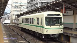 Nゲージ化決定!!   叡山電車700系721号車(緑) @修学院 19.3.21