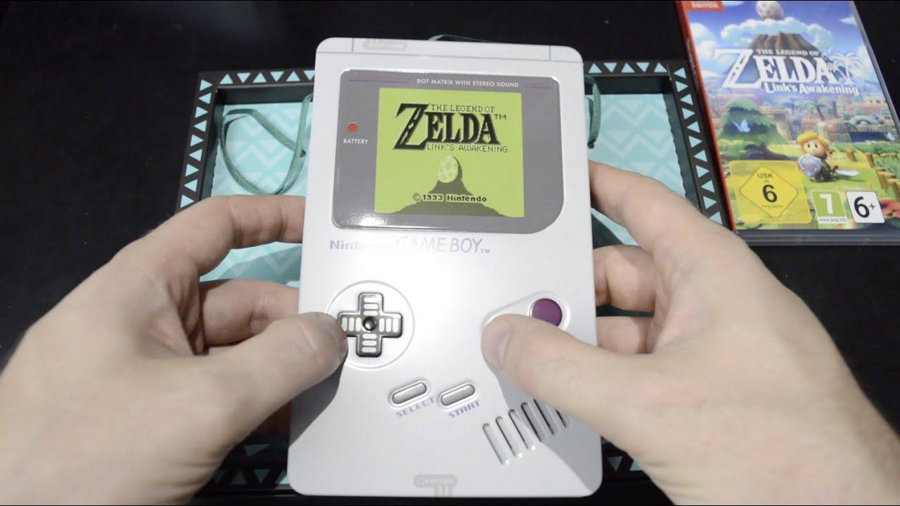 Unboxing Zelda Link S Awakening Limited Edition