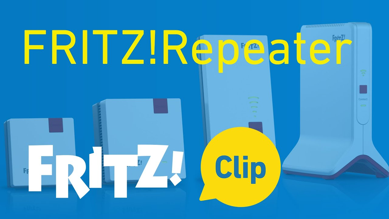 FRITZ! Clip: The new FRITZ!Repeater generation