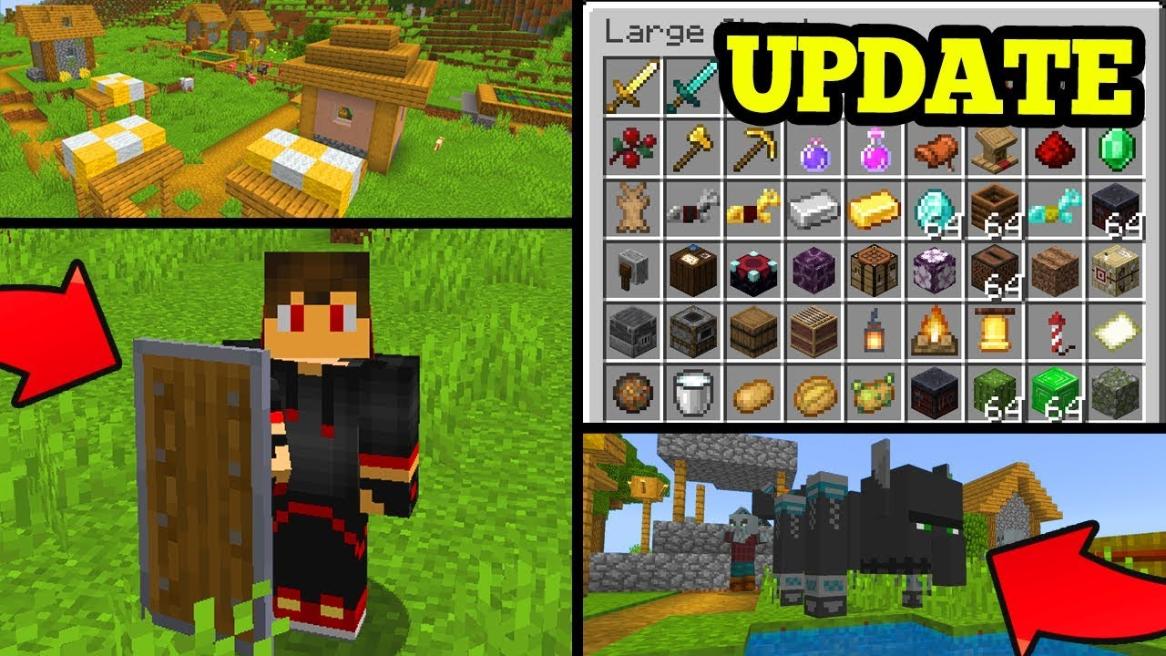 NEW Minecraft Pocket Edition 8.80 BETA UPDATE (MCPE 8.80 UPDATE)