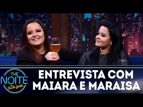 Entrevista com Maiara e Maraisa | The Noite (23/03/18)