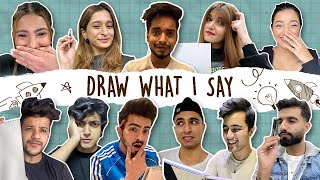 DRAW WHAT I SAY | DAMNFAM |
