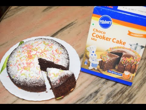 Cake Mix Cake Recipe | Pillsbury Choco Cake | Easy Cake Mix | Pressure Cooker Cake