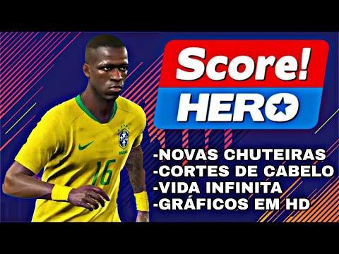NOVO!! Score Hero 2019 COM VIDA INFINITA E COM NOVAS CHUTEIRAS E GRÁFICOS EM HD! (ANDROID)