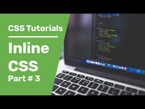 CSS Tutorials 3 | Inline CSS In HTML| Inline CSS Font Family And More CSS HTML Examples