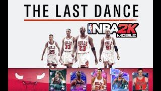 The Last Dance , Chicago Bulls , NBA 2k Mobile style