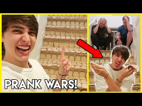 Thumbnail: TURNING ROOMMATES STAIRS INTO BREAD PRANK