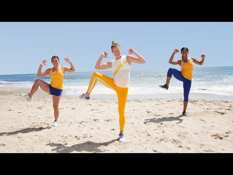 10-Minute Summer Sweat and Sculpted Abs Workout!