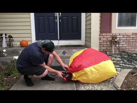 Hair Dryer Hot Air Balloon Experiment Diy hot air balloon | how to make hot air paper balloon