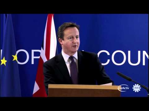 Cameron: What's on offer isn't in Britain's interest, so I didn't agree to it