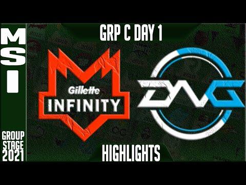 INF vs DFM Highlights   MSI 2021 Day 1 Group C   Gillette Infinity vs Detonation FocusMe