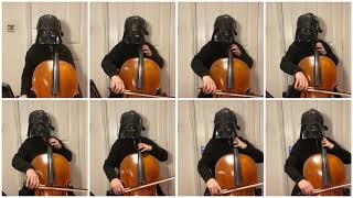 Imperial March (Darth Vaders Theme) for 8 cellos