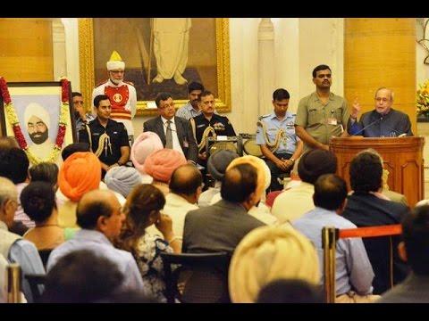 SlideShow-Hon'ble RastrapathyJi-@-100th Birthday Celebrations of late Giani Zail Singh Ji