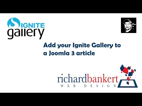 Add An Ignite Image Gallery To Your Joomla Article Content