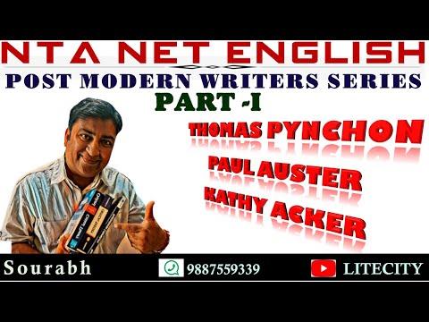 NTA-NET English: Major Post-Modern Writers & Selected Novels [Part-I]