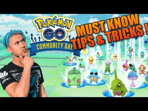 *5 MUST KNOW TIPS* FOR SWINUB COMMUNITY DAY POKEMON GO (2019) thumbnail