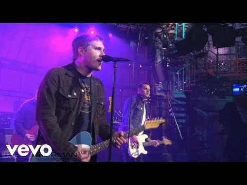 The Gaslight Anthem - American Slang (Live On Letterman)