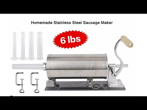 Best Sausage Stuffer - Stainless Kitchen Tools