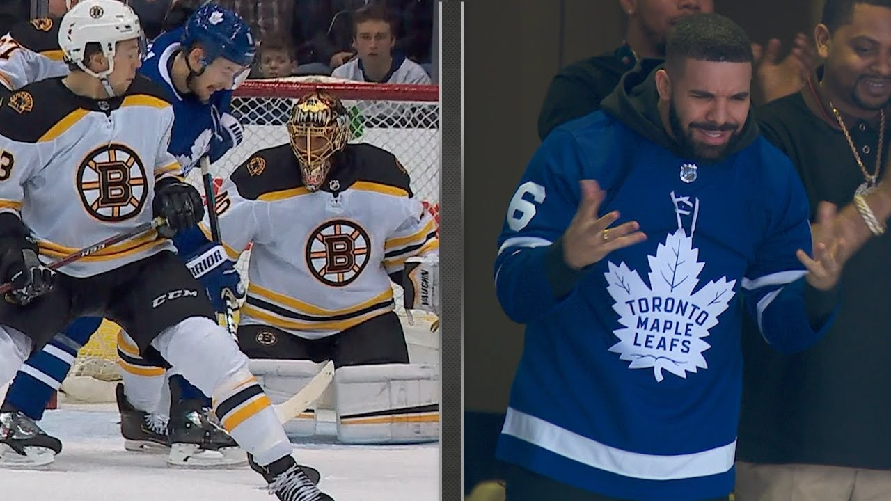 48837acb2c4 'The Drake Curse' is Alive and Well. Just Ask the Toronto Maple Leafs. |  Fanbuzz