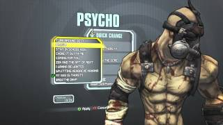 Borderlands 2 - Psycho Domination Pack (MY AXE IS THIRSTY/BATHE IN THE GORE)