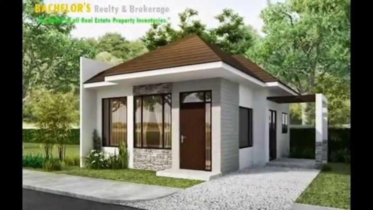 1Storey Single Detached House in Talamban Cebu2Bedroom YouTube – One Floor Bungalow House Plans