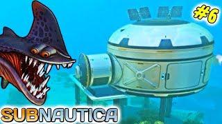 Полное прохождение Subnautica 6 Начало строительства Базы ФГТВ