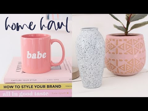 Homeware Haul Summer 2017 | Urban Outfitters, Oliver Bonas, H&M Home and Thrifted