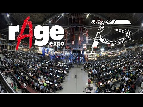 Rage Expo 2016 South Africa - Tinyoss gaming Vlog with Friends