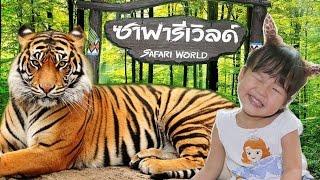 เฌอแตมพาเที่ยว ซาฟารี เวิลด์ # 2 ตะลุยสวนสัตว์เปิด ชมแรด ให้อาหารเสือกัน | Safari World Thailand