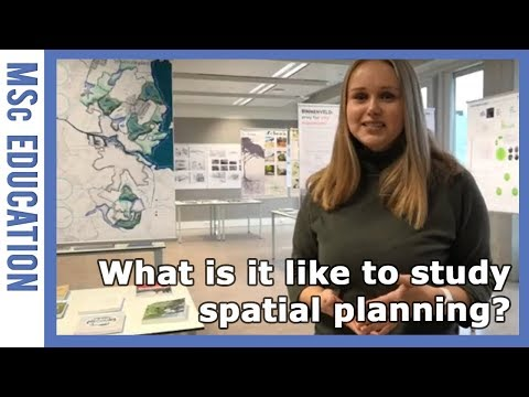 MSc Landscape Architecture and Planning – Experiences of a thesis student | WURtube