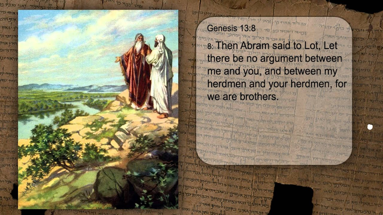 one minute bible seeds genesis 13 8 youtube