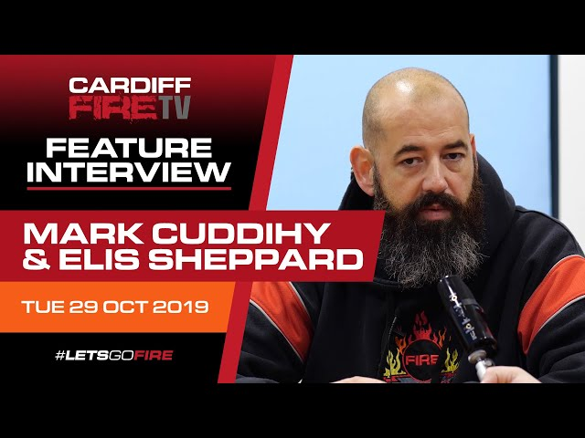 Interview with Mark Cuddihy and Elis Sheppard 29/10/19