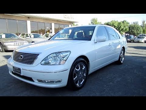 2004 Lexus Ls430 Start Up Engine And In Depth Tour Youtube