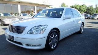 2004 Lexus LS430 Start Up, Engine, and In Depth Tour