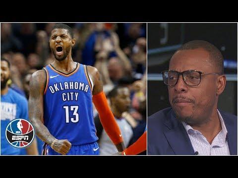 Paul George's late-game heroics vs Jazz strengthens MVP case | NBA on ESPN thumbnail