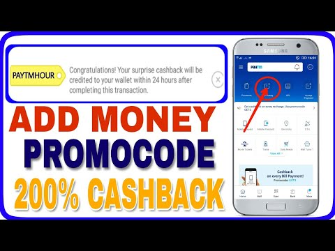 Paytm New Official 200% CashBack Add Money Promocode Launch April 2018 ll TECHNICAL VIPERS