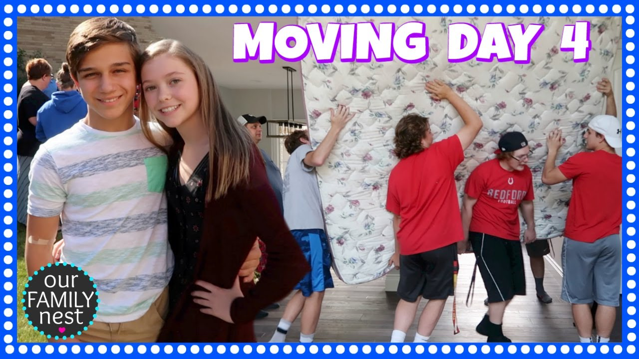 8th Grade Graduation Moving Day 4 We Got Helpers Youtube