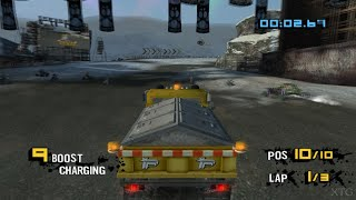 MotorStorm Arctic Edge PS2 Gameplay HD (PCSX2)
