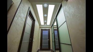 Светопрозрачные натяжные потолки в квартире. Профессиональные решения.
