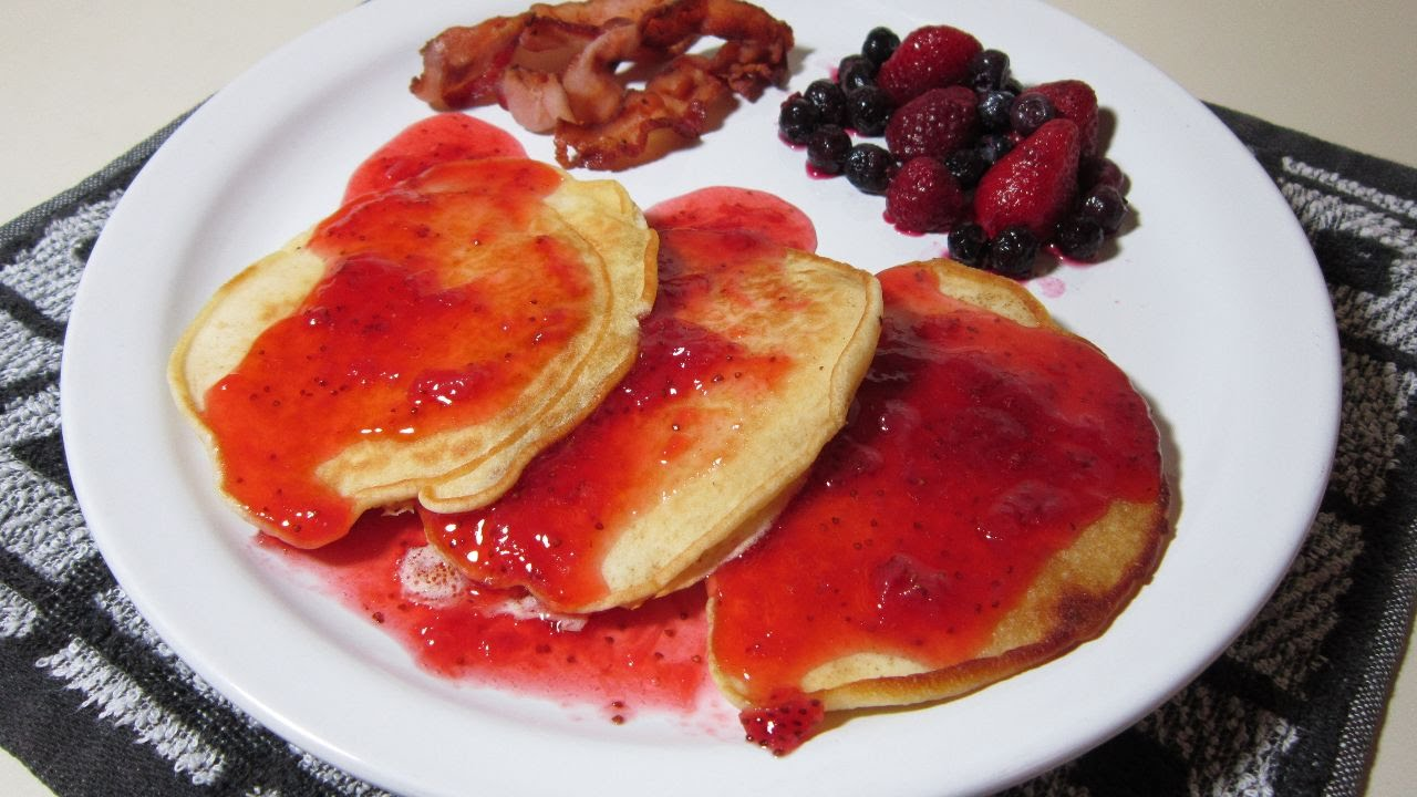 how to make pancake syrup
