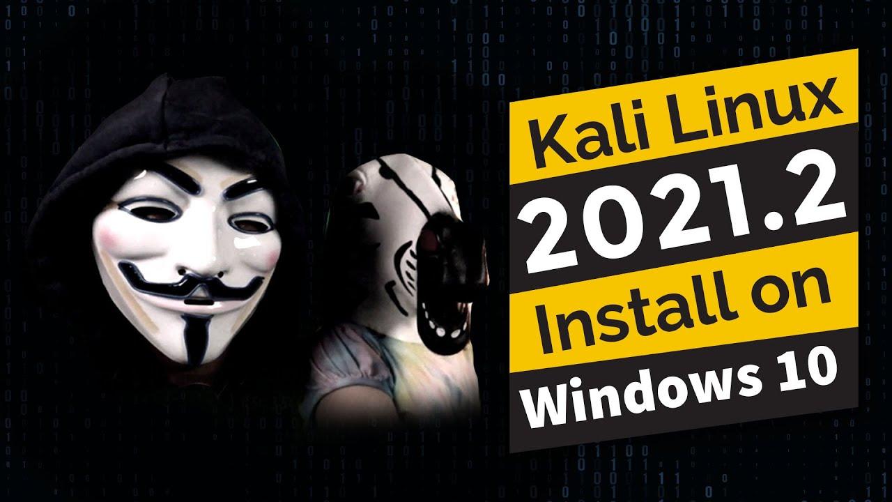 Kali Linux 2021.2 zero to WiFi (Free Install)